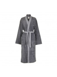 Riviera Charcoal Bathrobe